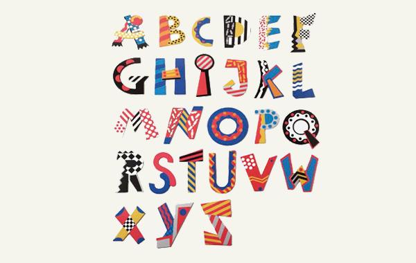 瑞士naef创意英文字母拼插拼图