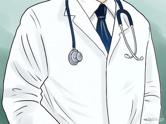 医生打针矢量图